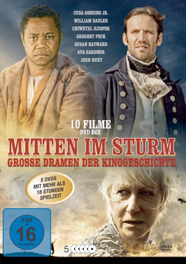 Mitten im Sturm - Große Dramen der Kinogeschichte 5 DVDs