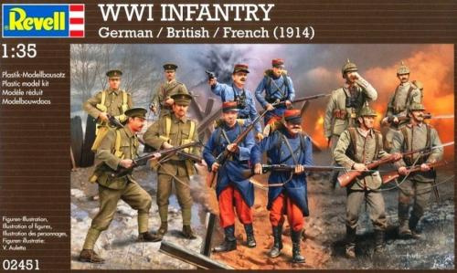Modell Revell Infanterie 1. WK 1:35