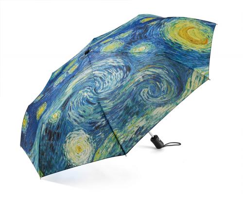 MoMA-Taschenschirm »Sternennacht«.