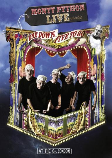 Monty Python Live - One Down Five To Go. DVD.