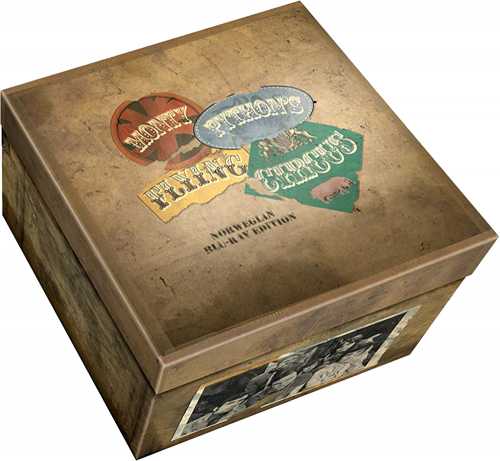 Monty Python`s Flying Circus - Die komplette Serie (limitierte Blu-ray Deluxe-Box). 7 Blu-ray Discs.