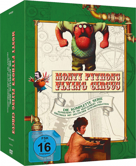 Monty Python's Flying Circus (Komplette Serie). 11 DVDs