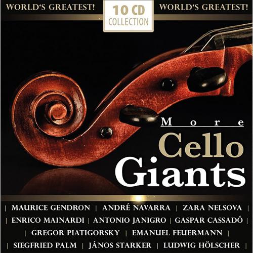 More Cello Giants 10 CDs