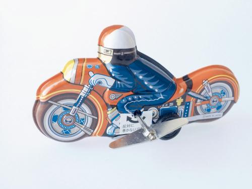 Motorrad »Crazy Charly«.