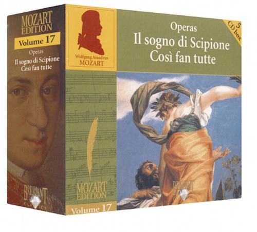 Mozart Edition Vol. 17 - Opern 5 CDs