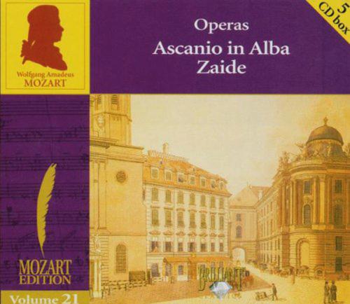 Wolfgang Amadeus Mozart. Edition - Volume 21 Opern. 5 CDs.