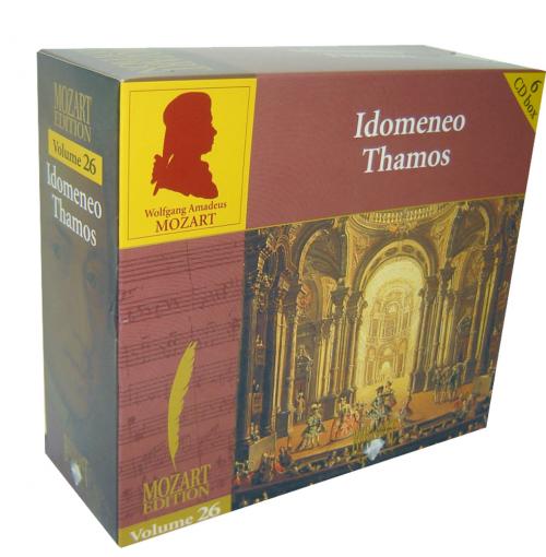 Wolfgang Amadeus Mozart - Edition. Volume 26 Opern. 6 CDs.
