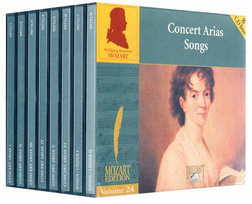 Mozart Konzertarien. 8 CDs.