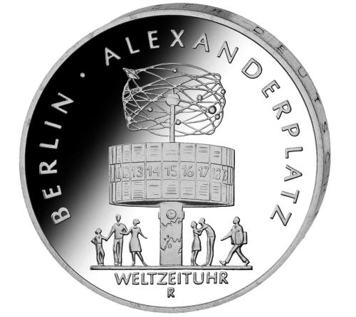 Münzsatz DDR 4er Set Berliner Stadtansicht