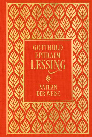 Nathan der Weise - Hochwertige Leinenausgabe mit Goldfolienprägung