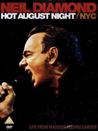 Neil Diamond DVD- Hot August Night