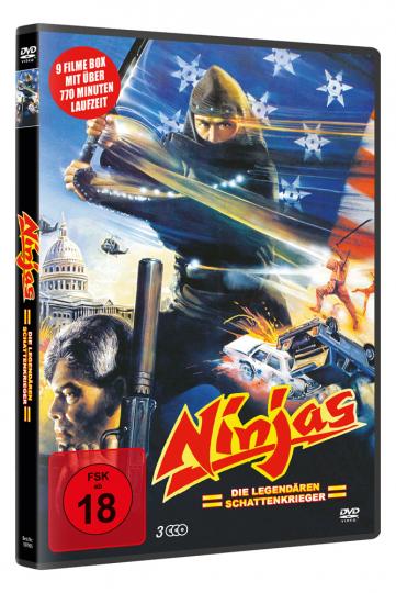 Ninja - Die legendären Schattenkrieger. 3 DVDs.