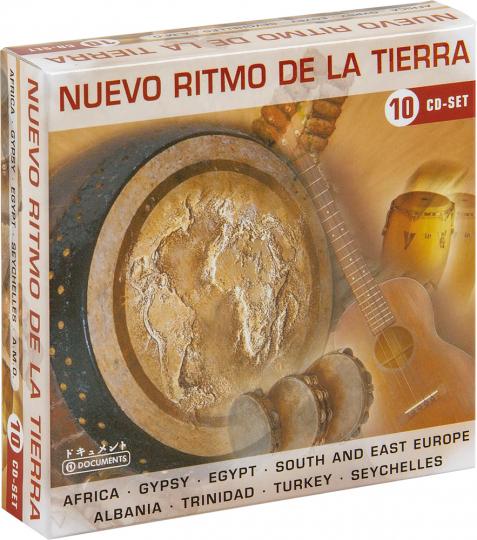 Nuevo Ritmo de la Tierra. 10 CDs.