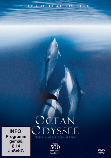 Ocean Odyssee - Geheimnisse der Meere 3 DVDs.