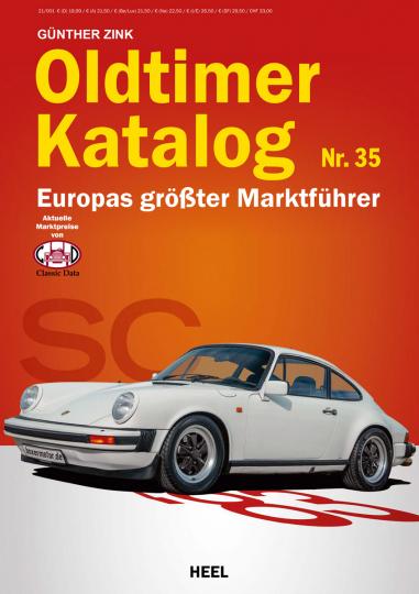 Oldtimer Katalog Nr. 35. Europas größter Marktführer.