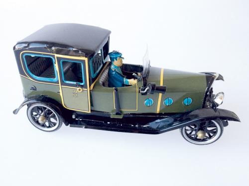 Oldtimer Limousine mit Chauffeur
