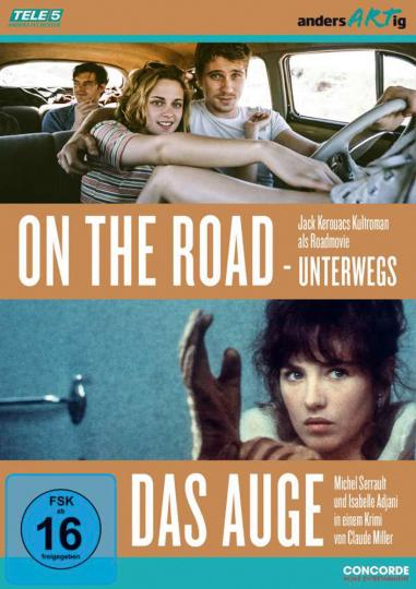 On the Road - Unterwegs / Das Auge. 2 DVDs.