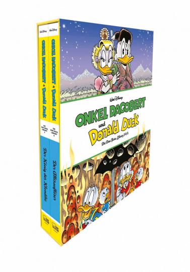 Onkel Dagobert und Donald Duck. Don Rosa Library Schuber 3. Band 5 und 6.