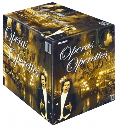 Operas and Operettes 10 CDs