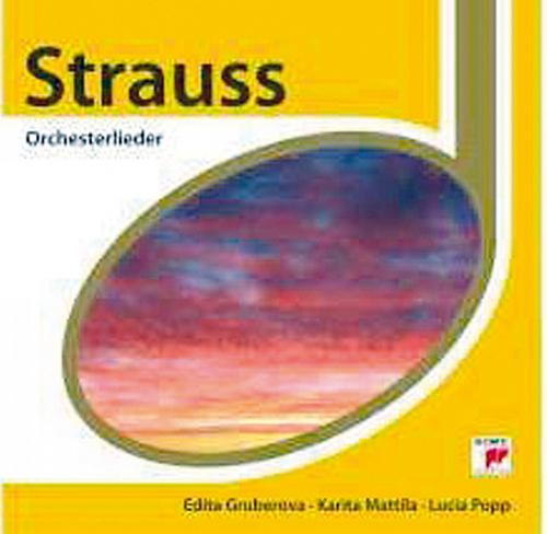 Orchesterlieder CD