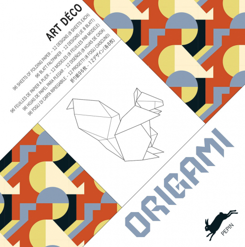 Origami-Buch »Art Déco«.