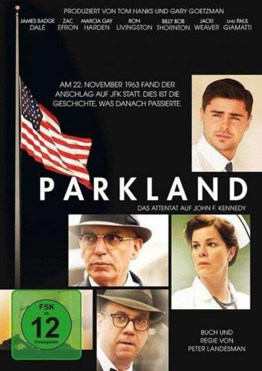 Parkland. DVD.