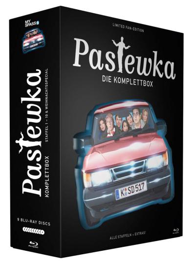 Pastewka (Komplette Serie inkl. Weihnachtsgeschichte) (Limited Fan-Edition). 9 Blu-ray Discs.