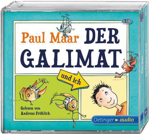Paul Maar. Der Galimat und ich. 3 CDs.