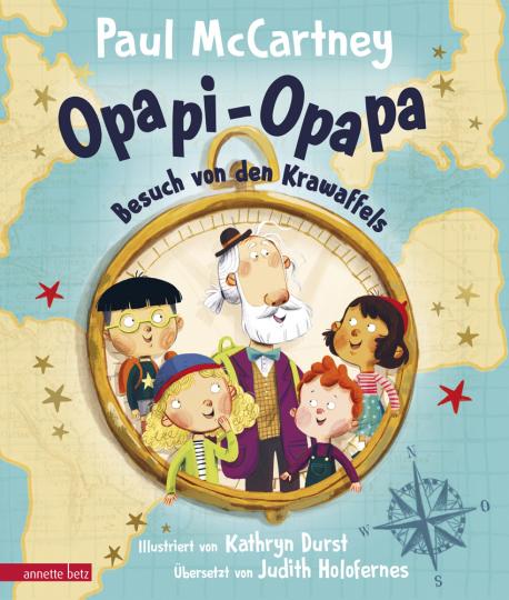 Paul McCartney. Opapi-Opapa. Besuch von den Krawaffels.