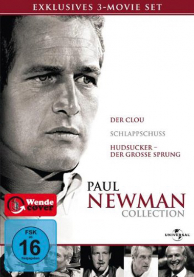 Paul Newman Collection. 3 DVDs.
