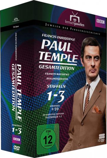 Paul Temple (Gesamtedition). 12 DVDs.