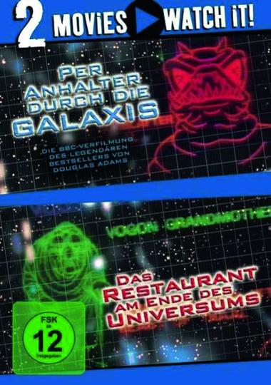Per Anhalter durch die Galaxis / Das Restaurant am Ende des Universums. 2 DVDs.