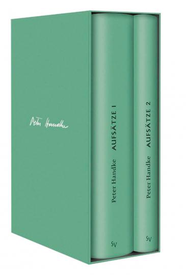 Peter Handke Bibliothek II. Bde. 10-11 Aufsätze.
