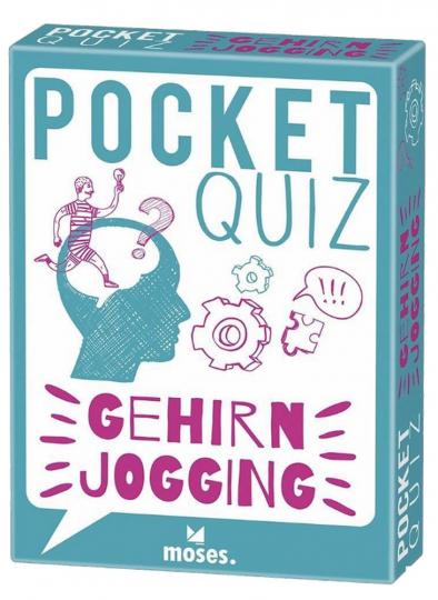 Pocket Quiz BUTTON: Der bewährte Bestseller - Gehirnjogging