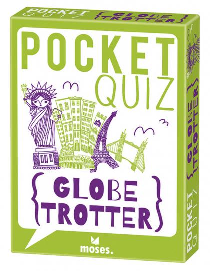 Pocket Quiz BUTTON: Der bewährte Bestseller - Globetrotter