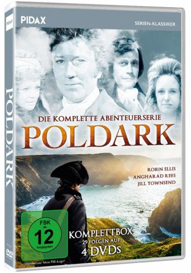 Poldark - Komplettbox. 4 DVDs.