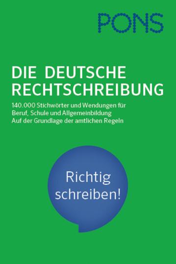 PONS. Die Deutsche Rechtschreibung.