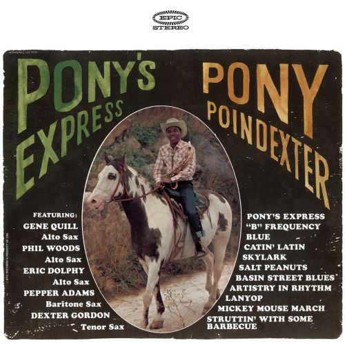 Pony Poindexter. Pony's Express. CD.