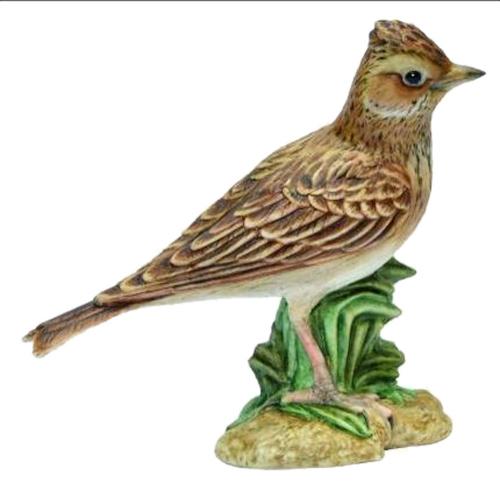 Porzellanvogel Feldlerche, klein.
