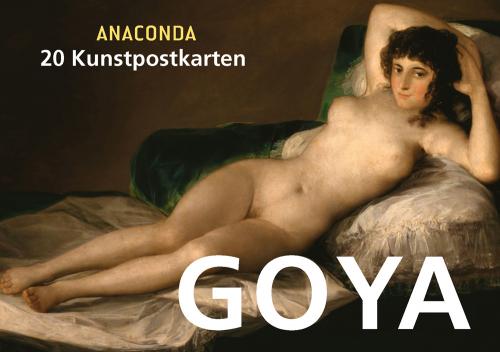Postkartenbuch Francisco de Goya.