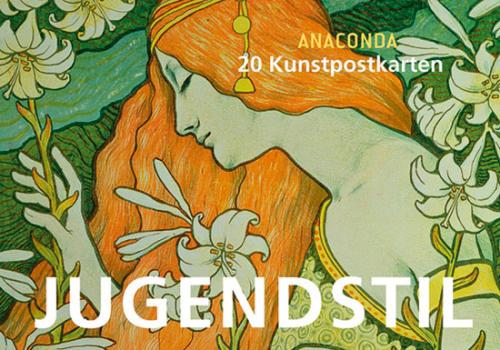 Postkartenbuch Jugendstil.