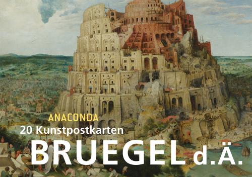 Postkartenbuch Pieter Bruegel (d. Ä.).
