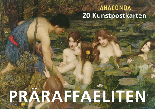 Postkartenbuch Präraffaeliten.