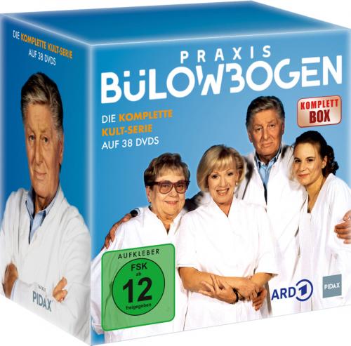 Praxis Bülowbogen - Komplettbox. 38 DVDs