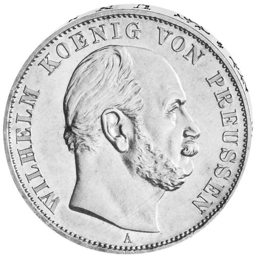 Preußen Siegestaler Silber 1871 Wilhelm I.