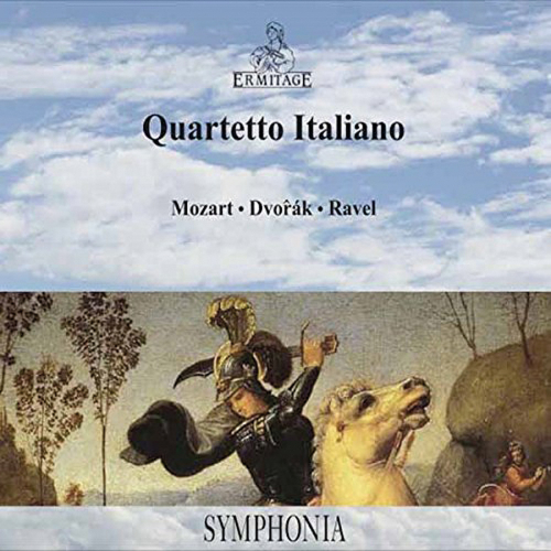 Quartetto Italiano. Mozart, Dvorak, Ravel. CD.