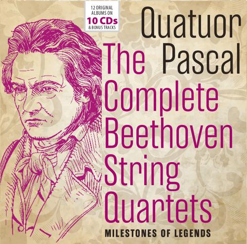Quatuor Pascal. The Complete Beethoven String Quartets. 10 CDs.
