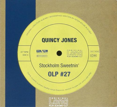 Quincy Jones. Stockholm Sweetnin'. CD.