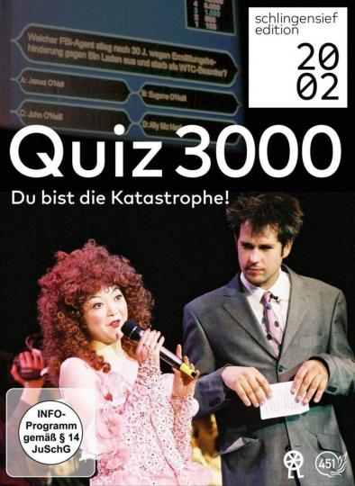Quiz 3000 - Du bist die Katastrophe! 2 DVDs.