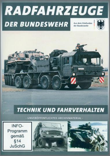 Radfahrzeuge der Bundeswehr DVD